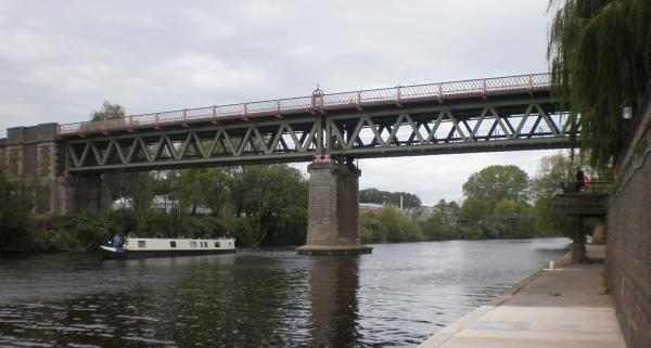 The railway bridge