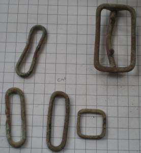 A selection of buckles