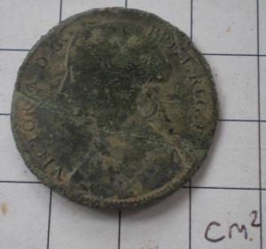 Victoria penny 1861