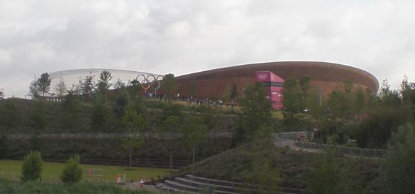 First view of the velodrome
