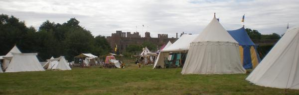 Part of the encampment