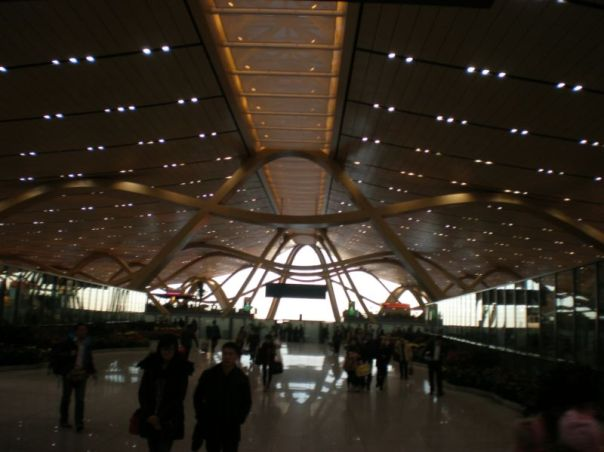Departure hall, Kunming airport