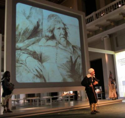 As Inigo Jones at the Banqueting House