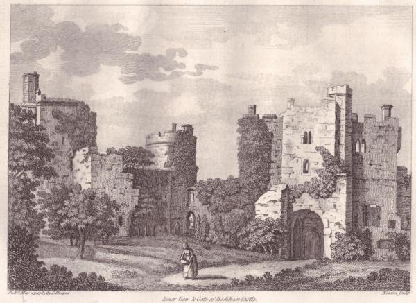 Bodiam Castle Gatehouse